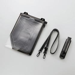 ELECOM TB-A13WPSBK iPad Air用防水・防塵ケース(ブラック)