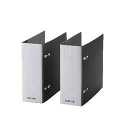 ELECOM CCD-B02WBK DVD・CD不織布ケース専用ファイル(2冊入り)