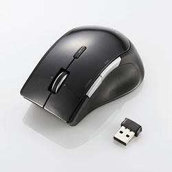 ELECOM M-BL22DBBK ワイヤレスBlueLEDマウス