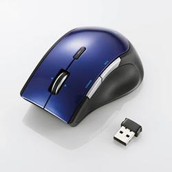 ELECOM M-BL22DBBU ワイヤレスBlueLEDマウス