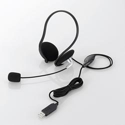 ELECOM HS-NB05USV USBヘッドセット(ネックバンドタイプ)