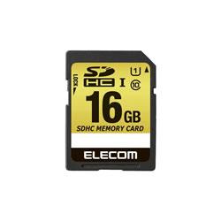 ELECOM MF-CASD016GU11 SDHCカード/車載用/MLC/UHS-I/16GB