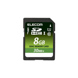 ELECOM MF-FSD008GU11LR SDHCカード/データ復旧サービス付