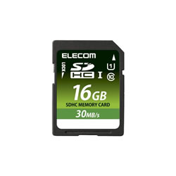 ELECOM MF-FSD016GU11LR SDHCカード/データ復旧サービス付