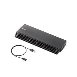 ELECOM SX-CL20BK ノートPC用クーラー(薄型コンパクトタイプ)