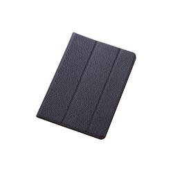 ELECOM TB-A14SWDTBU iPadmini用イタリアンECOレザーカバー(2アングル)