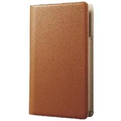 ELECOM P-01WDTBR スマートフォン用手帳型マルチカバー