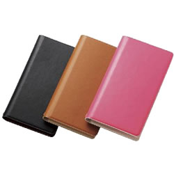 ELECOM P-03WDTBK スマートフォン用手帳型マルチカバー