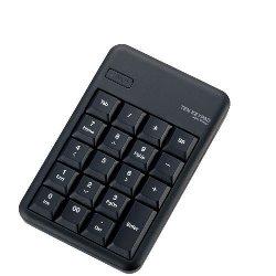 ELECOM TK-TBM016BK Bluetoothワイヤレステンキーパッド
