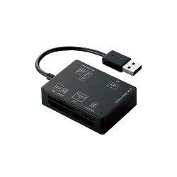 ELECOM MR-A012BK 56+2メディア対応メモリリーダライタ