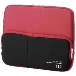 ELECOM BM-IBPT11RD ポケット付きPCインナーバッグ