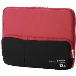ELECOM BM-IBPT13RD ポケット付きPCインナーバッグ