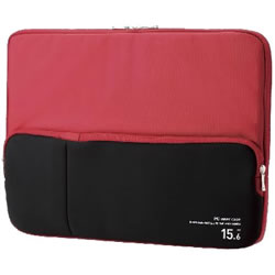 ELECOM BM-IBPT15RD ポケット付きPCインナーバッグ