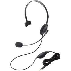 ELECOM HS-HP21TBK ヘッドセット(4極片耳オーバーヘッド)