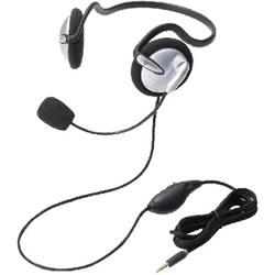 ELECOM HS-NB05TSV ヘッドセット(4極両耳ネックバンド)