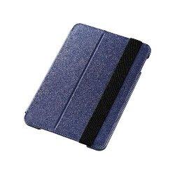 ELECOM TB-A15SPLF1BU iPad mini 4/ソフトレザーケース/2段階調節/ブルー