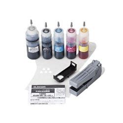 ELECOM THC-326321SET キヤノン 325+326/320+321用詰め替えインクセット