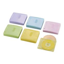 ELECOM CCD-NBWB240ASO Blu-ray・CD・DVD対応不織布ケース 2穴