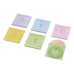 ELECOM CCD-NIWB60ASO Blu-ray・CD・DVD対応不織布ケース タイトルカード