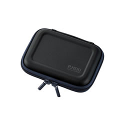 ELECOM HDC-SH001BK ポータブルHDDケース(セミハード)