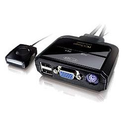 コレガ CG-PC2KVMNC PC2台用 パソコン自動切替器