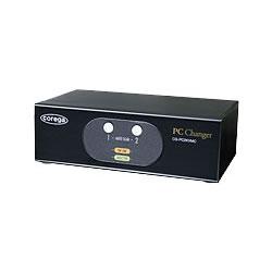 コレガ CG-PC2KVMC-W PC2台用 パソコン自動切替器
