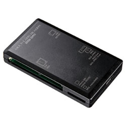 サンワサプライ ADR-ML1BK USB2.0カードリーダー
