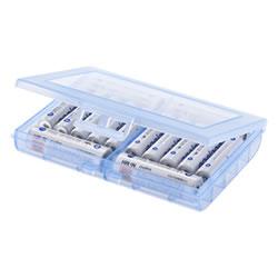 サンワサプライ DG-BT5BL 電池ケース(単3形、単4形対応・ブルー)