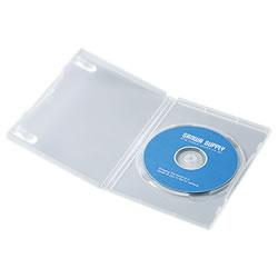 サンワサプライ DVD-TN1-03C DVDトールケース(1枚収納)