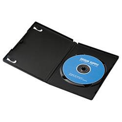 サンワサプライ DVD-TN1-10BK DVDトールケース(1枚収納)