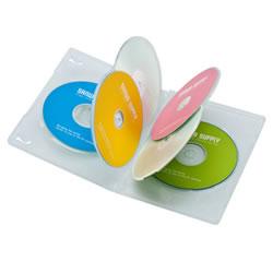 サンワサプライ DVD-TN6-03C DVDトールケース(6枚収納)