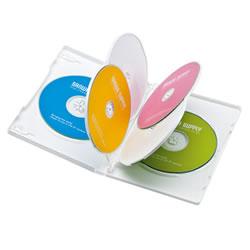 サンワサプライ DVD-TN6-03W DVDトールケース(6枚収納)