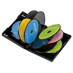 サンワサプライ DVD-TW10-03BK DVDトールケース(10枚収納)
