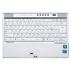 サンワサプライ FA-NBIBMG4 ノート用キーボードカバー