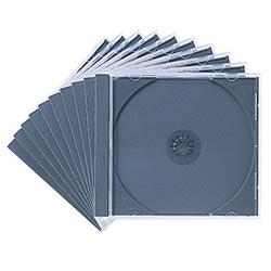 サンワサプライ FCD-PN10BK DVD・CDケース(ブラック)