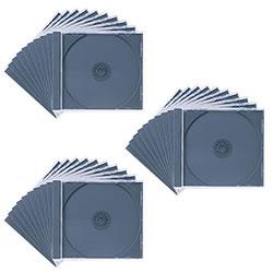 サンワサプライ FCD-PN30BK DVD・CDケース(ブラック)