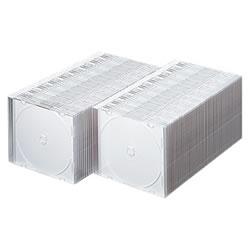 サンワサプライ FCD-PU100MW DVD・CDケース(マットホワイト)