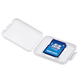 サンワサプライ FC-MMC10SD メモリーカードクリアケース(SD用)