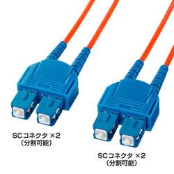 サンワサプライ HKB-CC6-1K 光ファイバケーブル(1.5m)