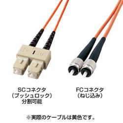 サンワサプライ HKB-CF1W-3 光ファイバケーブル(3m)