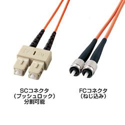 サンワサプライ HKB-CF5W-3 光ファイバケーブル(3m)