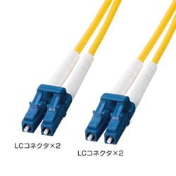 サンワサプライ HKB-LCLC1-01L 光ファイバケーブル