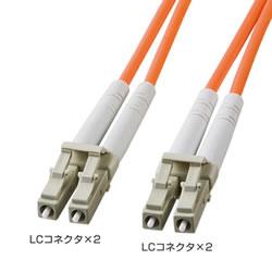 サンワサプライ HKB-LCLC6-02L 光ファイバケーブル