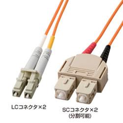 サンワサプライ HKB-LS5-03K 光ファイバケーブル3m