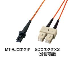 サンワサプライ HKB-MTSC6-1 MT-RJパッチケーブル(1m)