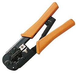 サンワサプライ HT-568R かしめ工具(ラチェット付き)