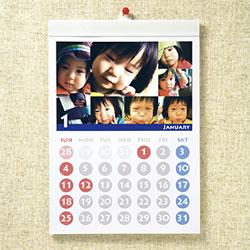 サンワサプライ JP-CALSET33 インクジェット手作りカレンダーキット