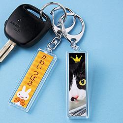 サンワサプライ JP-ST15 手作りキーホルダーキット(スティック型)