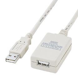 サンワサプライ KB-USB-R205 USB2.0リピーターケーブル(5m)