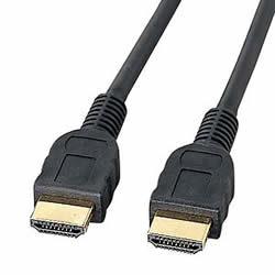 サンワサプライ KM-HD20-10 HDMIケーブル(1m)
